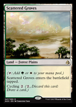 Amonkhet (abril 2017) - Página 2 Scatteredgroves