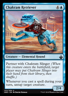 Chakram Retriever | BATTTLEBOND Visual Spoiler