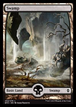 swamp battle for zendikar mtg visual spoiler