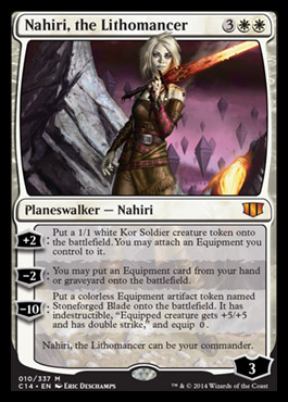Nahiri, the Lithomancer   COMMANDER 2014 Visual Spoiler Lilith In The Bible