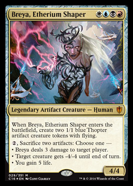 Goddess Of Etherium Budget Commander Edh Mtg Deck