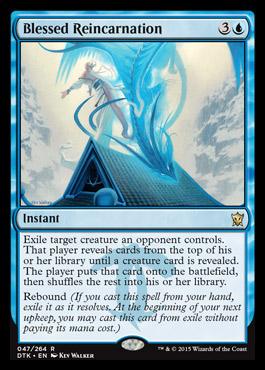Blessed Reincarnation Dragons Of Tarkir Visual Spoiler