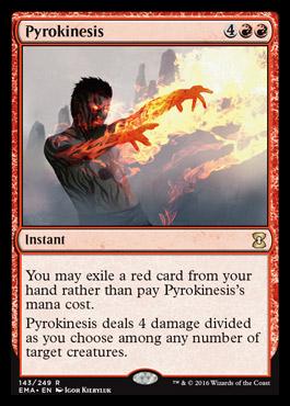 Unboxing de Eternal Masters Pyrokinesis