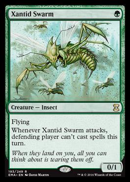Unboxing de Eternal Masters Xantidswarm