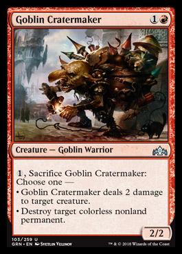 Spoiler Ravnica 3  - Página 2 Goblincratermaker