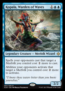 Standard merfolk deck ixalan