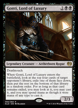 gonti lord of luxury kaladesh visual spoiler