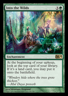 into the wilds m14