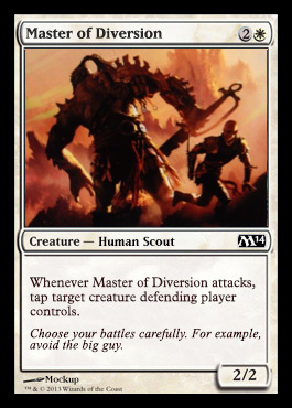 master of diversion m14 spoiler