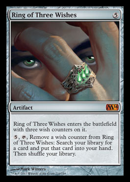 ring of three wishes m14