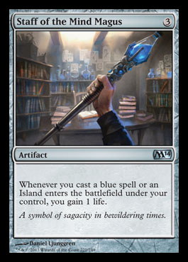 staff of the mind magus m14 spoiler