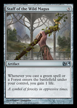 staff of the wildmagus m14 spoiler