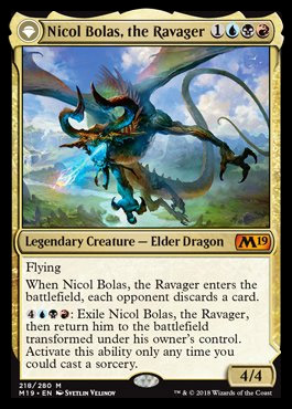 BOLAS is back [Magic core set] Nicolbolastheravager