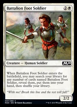 Core Set 2020 - Página 3 Battalionfootsoldier