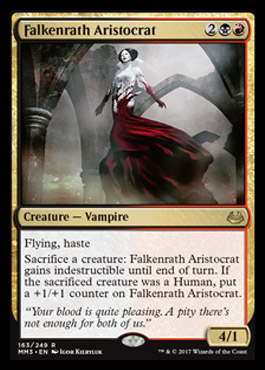 Modern masters 2017 Falkenratharistocrat