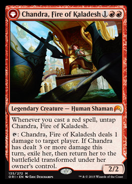 Chandra, Fire of Kaladesh