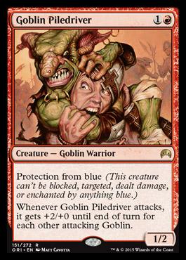 Goblin Piledriver | Magic Origins Visual Spoiler