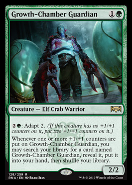 Growth Chamber Guardian Ravnica Allegiance Visual Spoiler