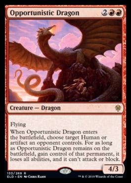 Throne of Eldraine Dragon