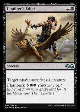 Spoiler Ultimate Masters Chainersedict