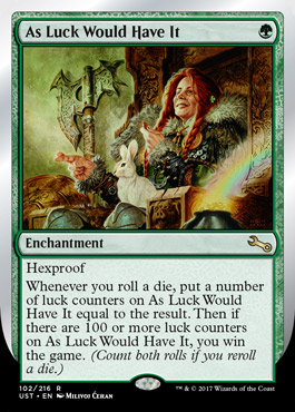 As Luck Would Have It UNSTABLE Visual Spoiler