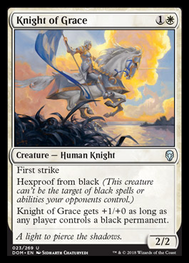 Dom Cube Knight Of Grace Cube Card And Archetype
