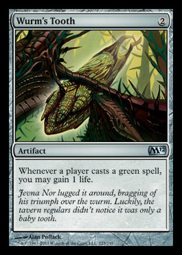 Staff Of The Wild Magus Mtg Visual Spoiler