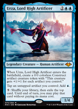 Urza, Lord High Artificer - Commander Rules Discussion Forum