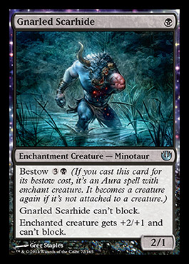 JOU]] Gnarled Scarhide - New Card Discussion - The Rumor Mill ...
