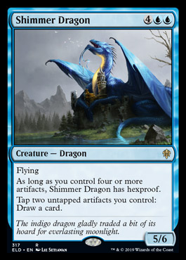 THRONE of ELDRAINE | TED Visual Spoiler | MythicSpoiler