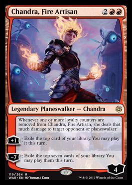 war of the spark card list