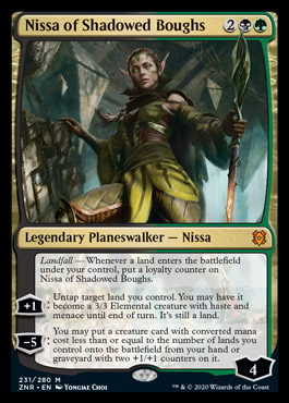 Nissa of Shadow Boughs